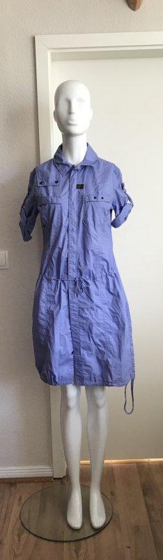 G Star Kleid Blusenkleid M 38 Flieder