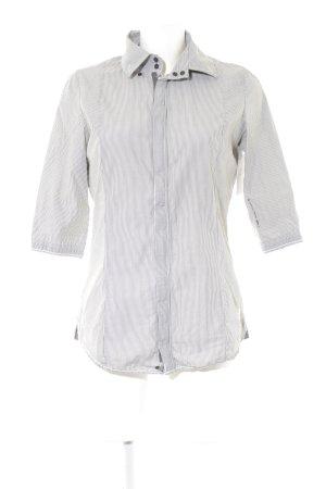 G-Star Blusa de manga corta blanco-verde grisáceo estampado a rayas look casual