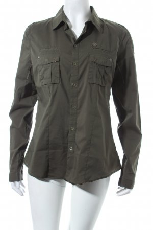 G-Star Langarm-Bluse khaki Military-Look
