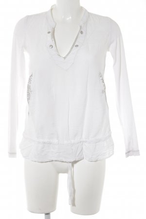 G-Star Long Sleeve Blouse white casual look