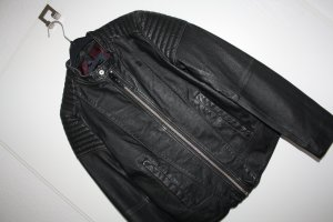 G-Star Raw Giacca in pelle nero Pelle