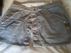 G-Star Denim Skirt light grey