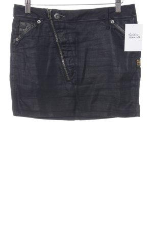 G-Star Minirock dunkelblau Jeans-Optik