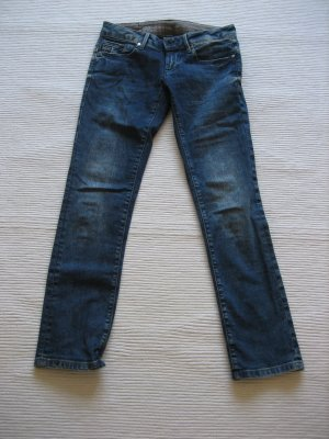 g-star neue jeans tolle waschung strech 27/30 gr. s 36 skinny jeans