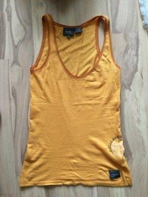 G-star Oberteil Tanktop gelb größe 34 xs top t-shirt