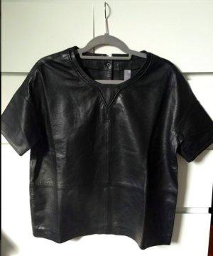 G-Star Oversized Leder T-Shirt