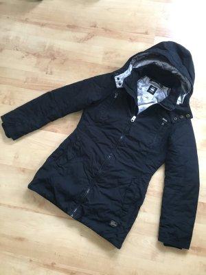 G-STAR Parka Jacke Winterjacke schwarz silber warm Gr. S