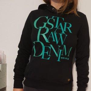G-Star Raw Jersey con capucha negro-menta