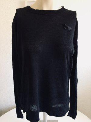 G-Star Pullover mit Leinen Anteil - Sommer Pullover