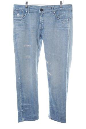 G-Star Raw 3/4-jeans blauw-lichtblauw kleurverloop Beach-look
