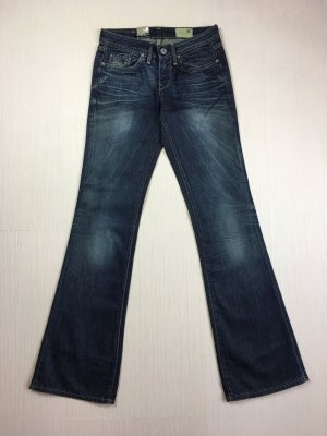 G-Star Raw 3301 Bellcut Schlaghose Jeans Gr. 32/34 Capital Denim Track Wash