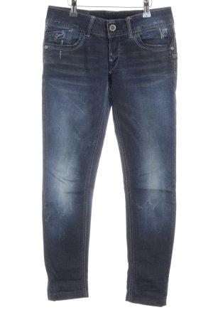 G-Star Raw Jeans a 7/8 blu scuro stile povero