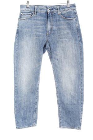 G-Star Raw Jeans 7/8 bleu clair style mode des rues