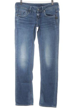 G-Star Raw 7/8 Jeans kornblumenblau Washed-Optik