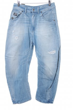 G-Star Raw Baggy Jeans azure-white cotton