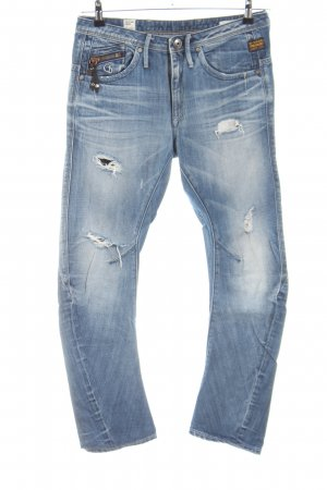 G-Star Raw Biker Jeans blue casual look