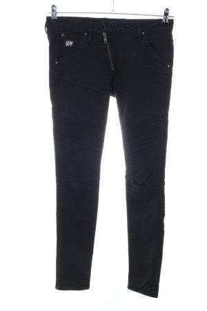 G-Star Raw Biker Jeans black casual look