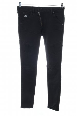 G-Star Raw Biker jeans zwart casual uitstraling