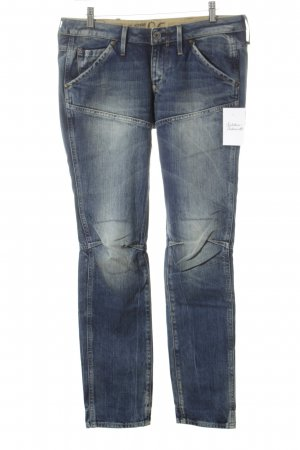 G-Star Raw Jeans da motociclista blu scuro stile casual