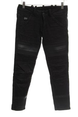 G-Star Raw Jeans da motociclista nero Stile ciclista