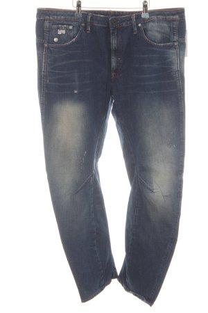 G-Star Raw Jeans da motociclista blu acciaio stile povero