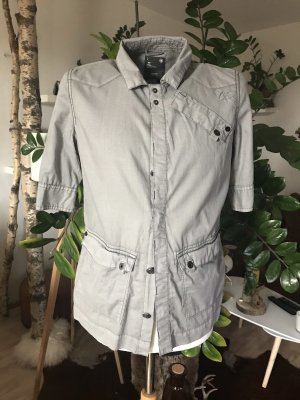 G-Star Blusa de manga corta gris