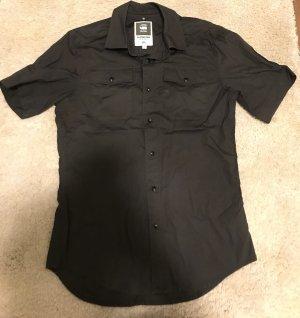 G-Star RAW Bluse  - kurzärmlig in schwarz