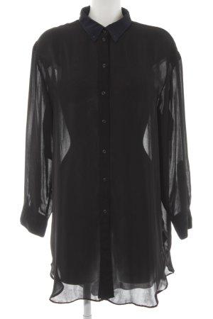G-Star Raw Blusenkleid schwarz-dunkelblau Elegant