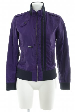 G-Star Raw Bomber Jacket dark violet-dark blue athletic style