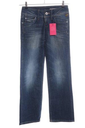 G-Star Raw Boot Cut Jeans blau Business-Look
