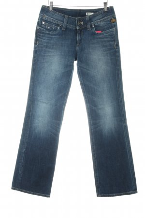 G-Star Raw Jeans bootcut bleu foncé-bleu azur Aspect de jeans