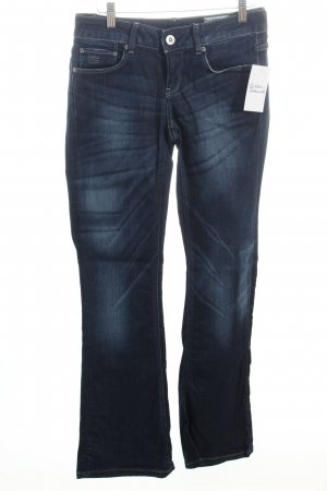 G-Star Raw Boot Cut Jeans dunkelblau Street-Fashion-Look