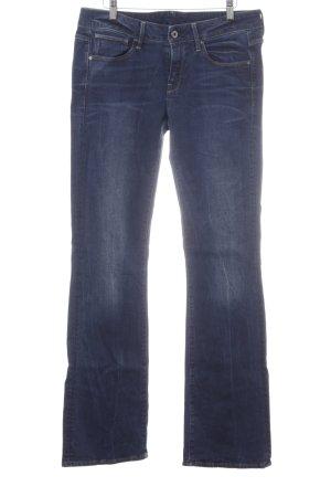 G-Star Raw Boot Cut spijkerbroek donkerblauw gewassen uitstraling