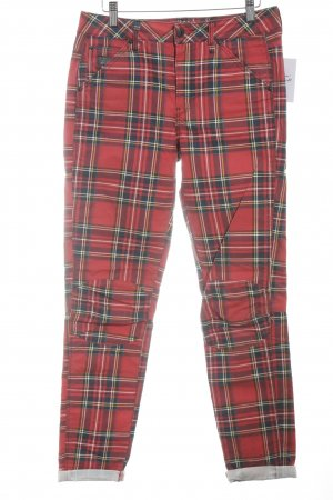 G-Star Raw Boyfriend Trousers check pattern Brit look