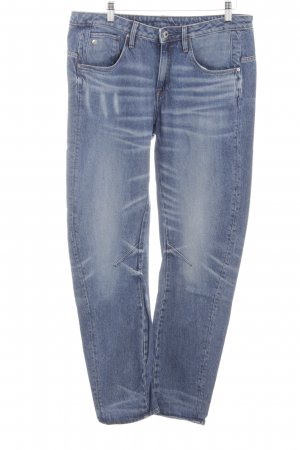 G-Star Raw Boyfriendjeans blau Casual-Look