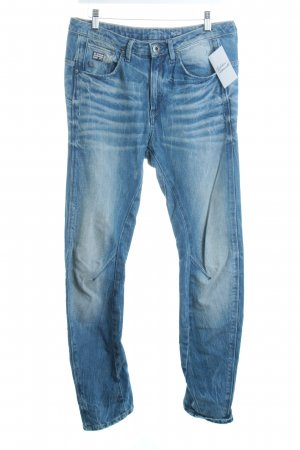 G-Star Raw Boyfriendjeans blau Destroy-Optik