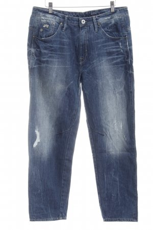 G-Star Raw Boyfriendjeans blau Jeans-Optik