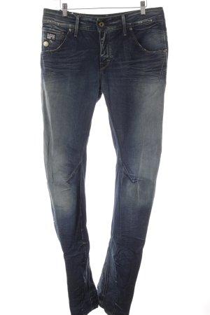 G-Star Raw Boyfriendjeans graublau-dunkelblau Jeans-Optik