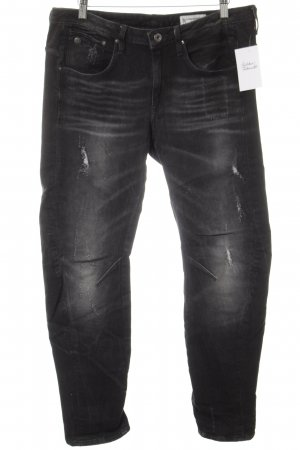 G-Star Raw Boyfriendjeans schwarz Street-Fashion-Look