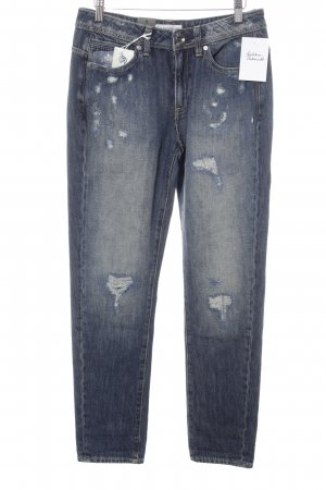 G-Star Raw Boyfriendjeans stahlblau Casual-Look