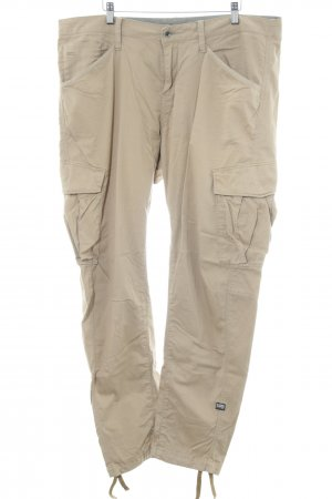 G-Star Raw Cargobroek beige casual uitstraling