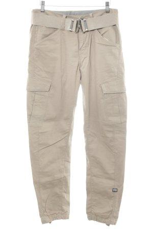 G-Star Raw Pantalon cargo beige style décontracté