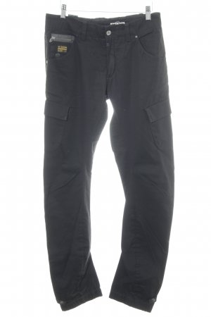 G-Star Raw Pantalon cargo noir style décontracté