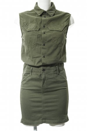 G-Star Raw Cargojurk khaki 2 in 1-look