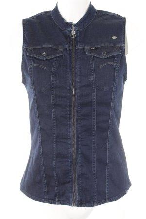 G-Star Raw Haut type corsage bleu foncé style décontracté