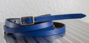 G-Star Double Belt blue leather
