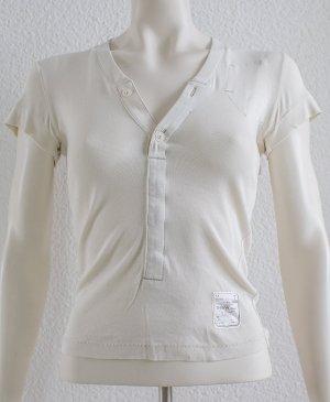 G-Star T-shirt room-licht beige Katoen