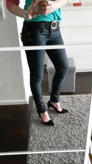 G-Star Raw Fender Skinny WMN Jeans Gr. 29/32 Wax blau blue denim Röhrenjeans