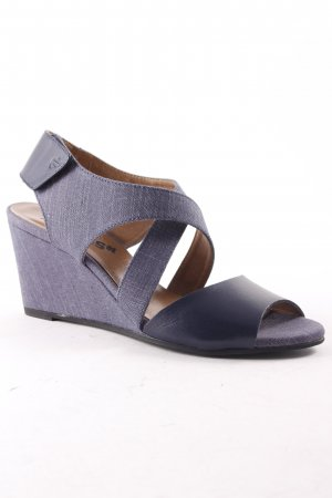 G-Star Raw Footwear Wedge Sandals blue-dark blue casual look