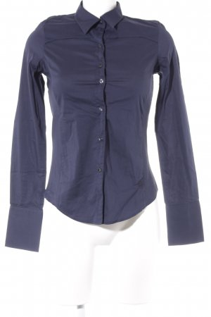 G-Star Raw Hemd-Bluse dunkelblau Business-Look